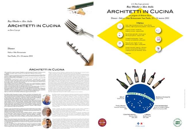 Architetti in cucina  23,24/03/2011
