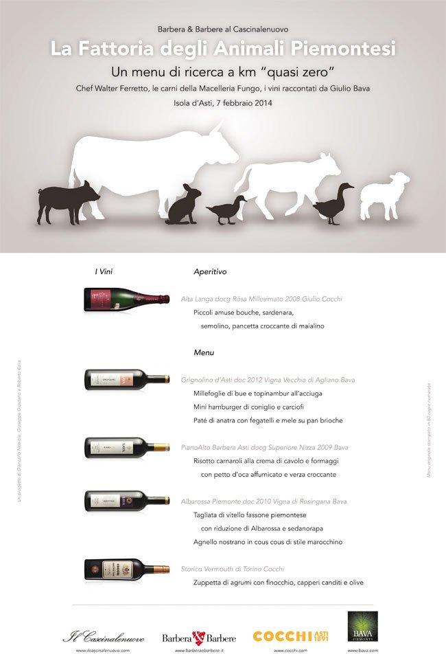 La Fattoria degli Animali Piemontesi  7/02/2014