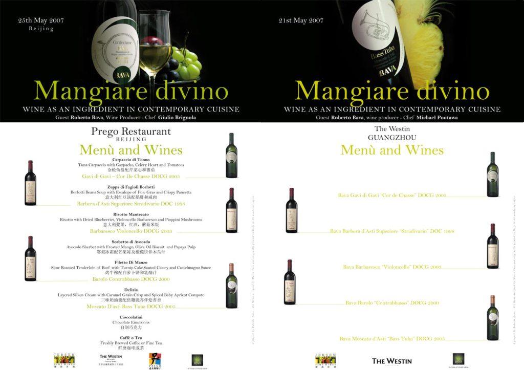 Mangiare divino  25/05/2007