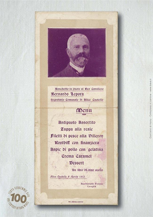 Banchetto Alice Castello 08/04/1912