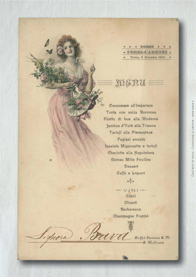Nozze Ferri-Carenzi Torino 11/12/1905