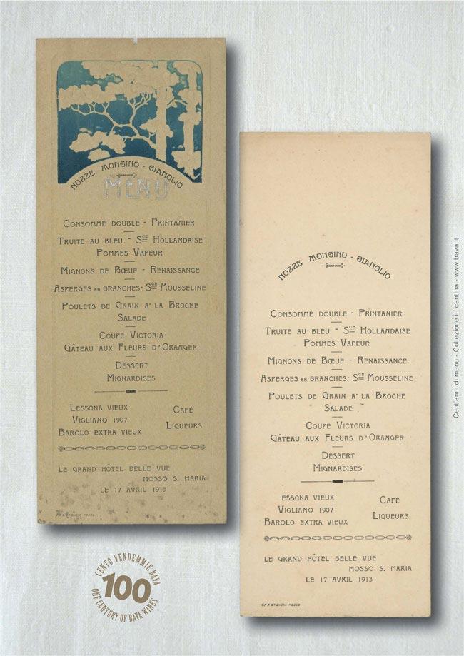Nozze Mongino-Gianolio Mosso S. Maria 17/04/1913