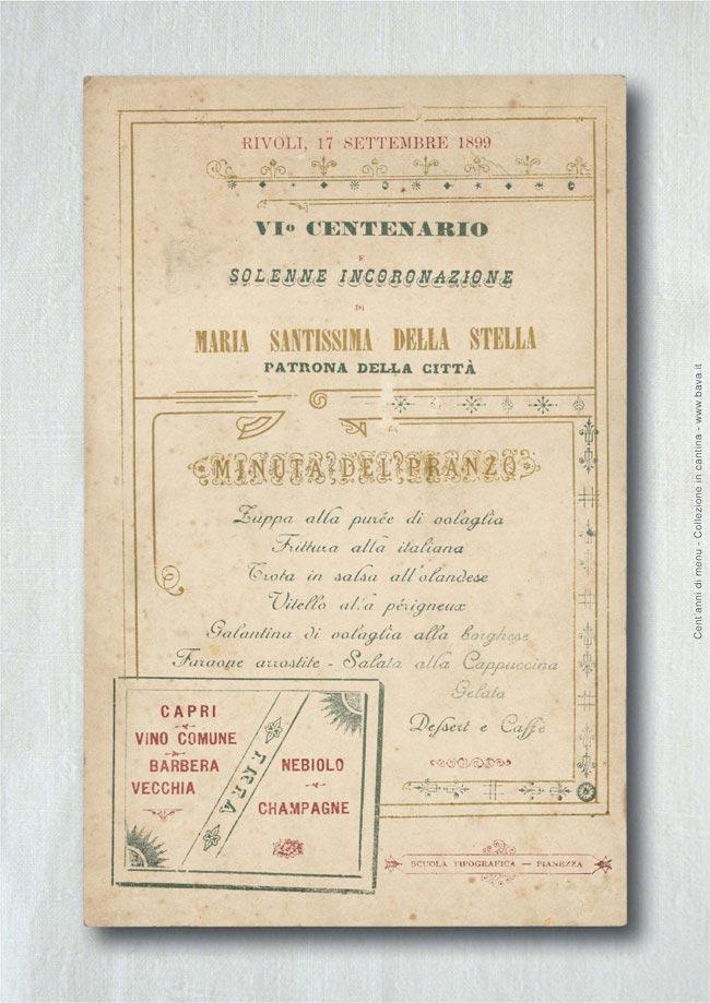 Solenne incoronazione Rivoli 17/09/1899