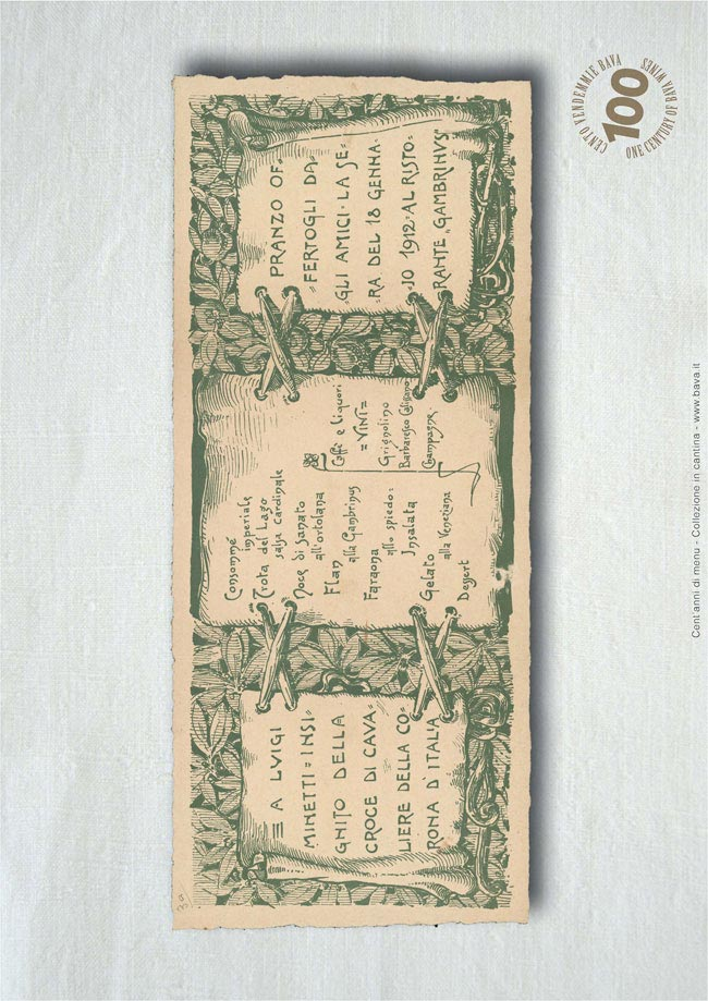 Pranzo dagli amici 18/01/1912