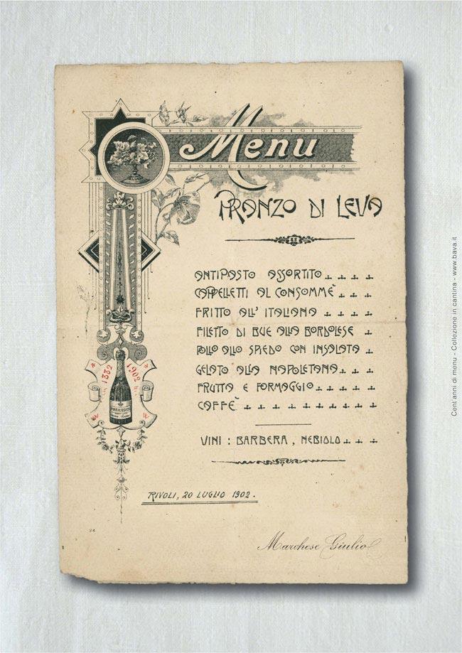 Pranzo di leva Rivoli 20/07/1902