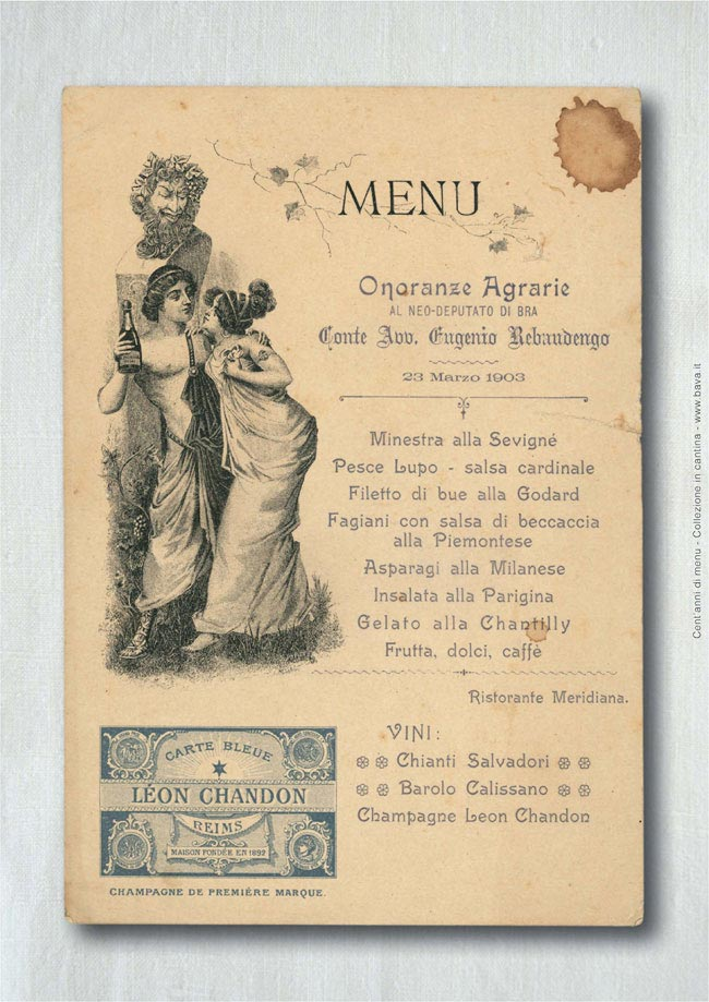 Onoranze agrarie al neo deputato di Bra 23/03/1903