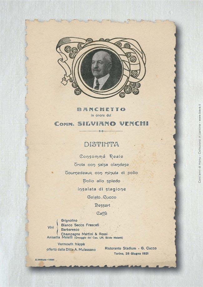 Banchetto Torino 25/05/1921