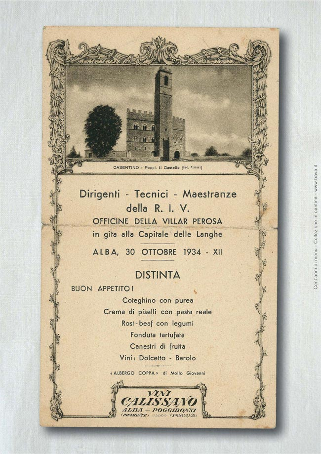 Distinta Alba 30/10/1934