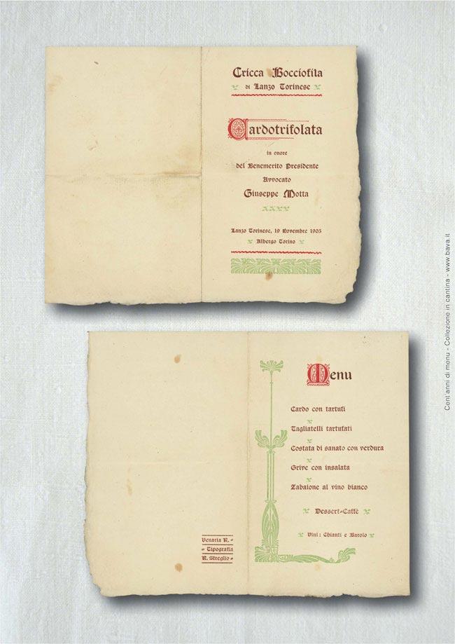Cardotrifolata Lanzo Torinese 19/11/1905