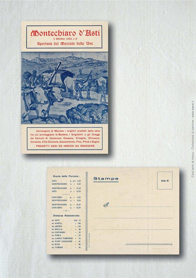 Mercato delle uve Montechiaro d'Asti 04/10/1932