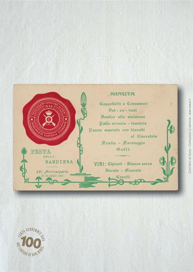 Festa della bandiera Canelli 23/03/1907