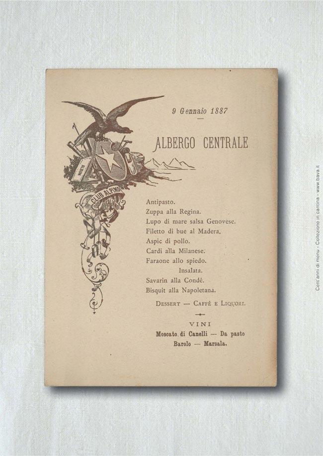 Albergo centrale  09/01/1887