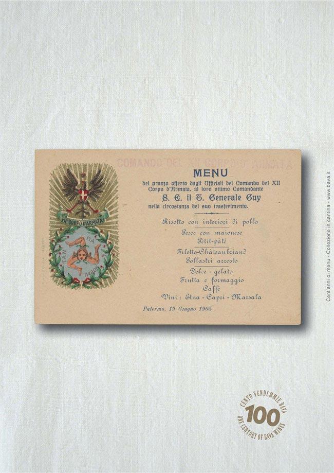 Pranzo ufficiali Palermo 19/06/1905