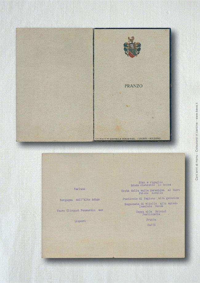 Pranzo Bolzano 1952