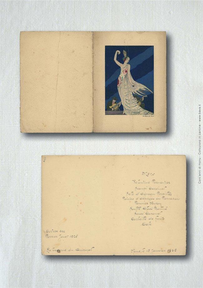 Menu 18/01/1935