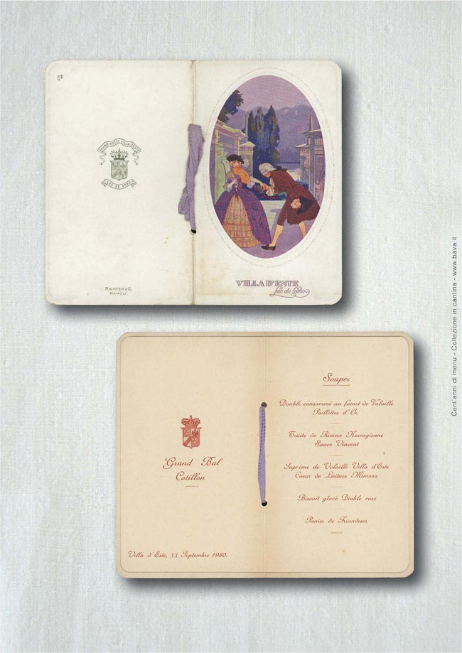 Grand Bal Cotillon Villa d'Este 20/09/1930