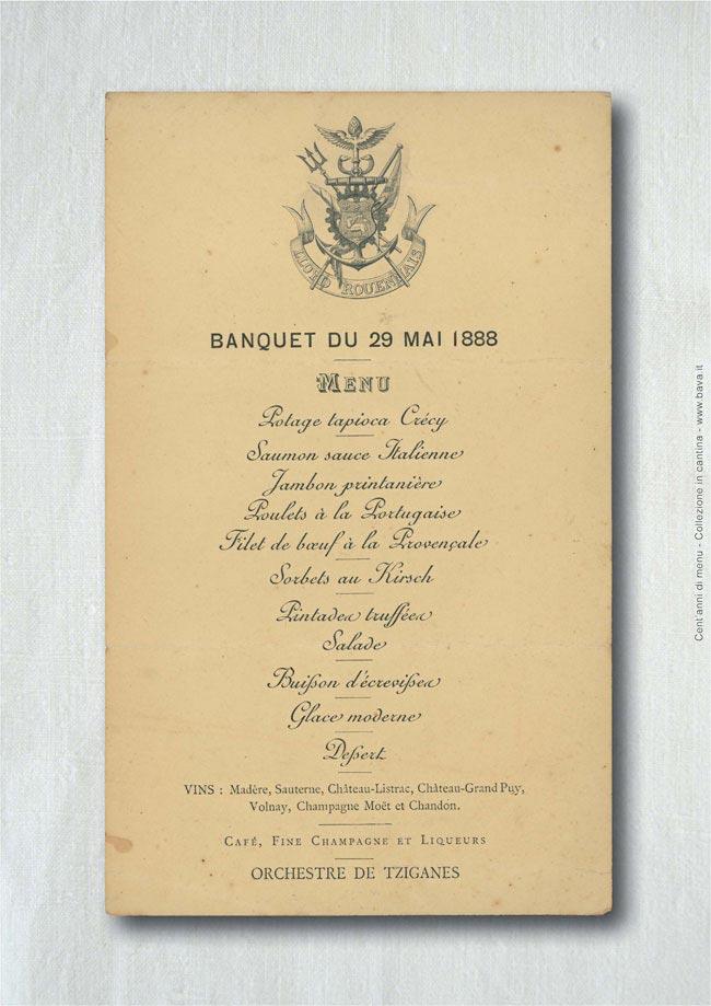 Banchetto  29/05/1888