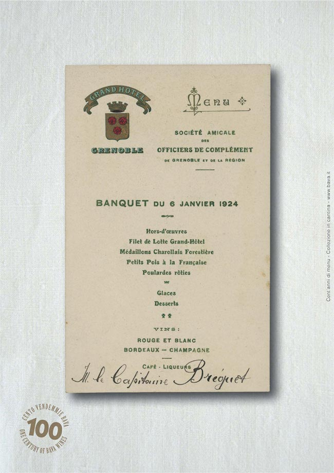 Banquet Grenoble 06/01/1924