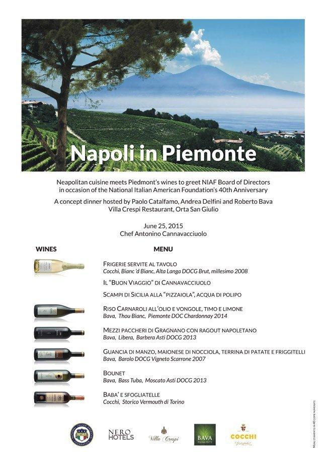 Napoli in Piemonte  25/06/2015